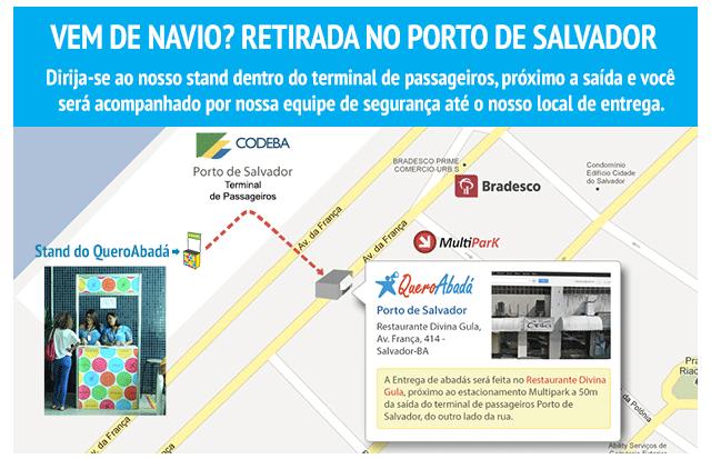 Entrega no Porto de Salvador